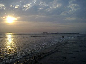 Virar - Sunset at Arnala beach, Virar