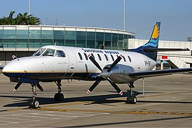 Fairchild Swearingen Metroliner de la Sunshine Express Airlines