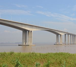 Sutong Yangtze River Bridge - Image: Sutong South Bridge
