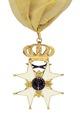 Svärdsorden stora riddarkors av emalj och guld, från 1810-1814 - Livrustkammaren - 97829.tif