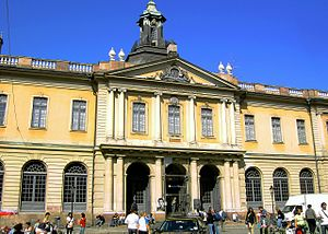 Swedish Academy - The Swedish Academy in Stockholm