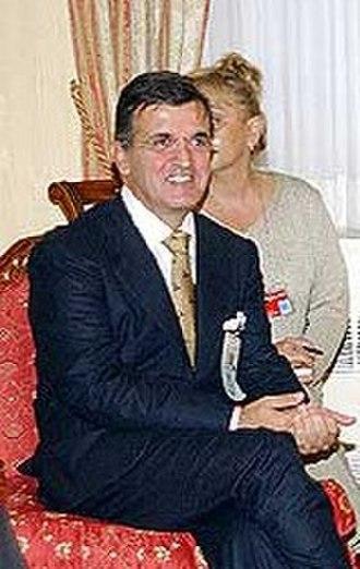 President of the Parliament of Montenegro - Image: Svetozar Marović