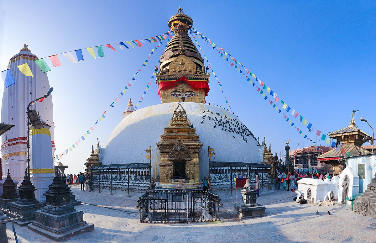 Image result for swayambhunath stupa