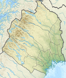Sweden Norrbotten relief location map.png
