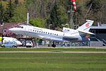 Switzerland - Air Force Dassault Falcon 900EX T-785 (26962420101).jpg