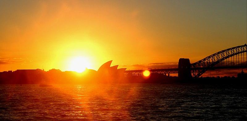 File:Sydney Opera House sunset.jpg