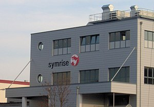 Symrise - One of the flavor production building