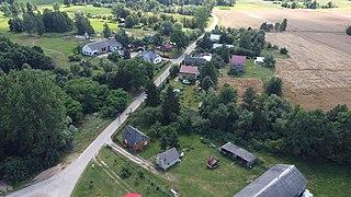 Szpice-Chojnowo Village in Masovian Voivodeship, Poland
