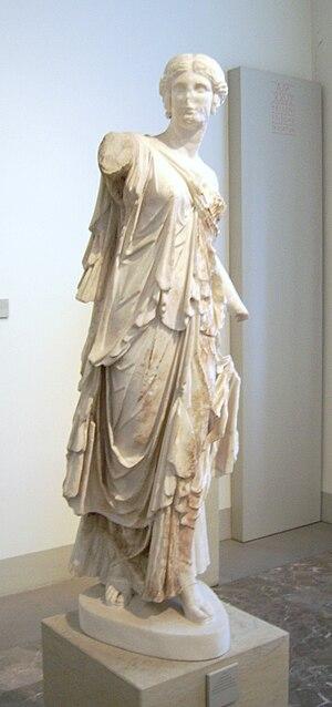 Dancer of Pergamon - The Dancer of Pergamon as displayed at the Pergamon Museum until 2010
