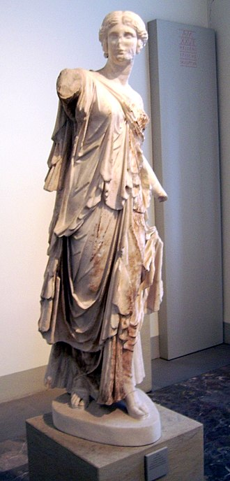 Dancer of Pergamon - The Dancer of Pergamon as displayed at the Pergamon Museum until 2010