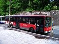 Třinec, Těšínská, autobus u nádraží.jpg