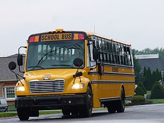 Freightliner C2 Type of school bus