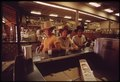 TEENAGERS IN DRUG STORE IN STOCKYARDS AREA (NORTHSIDE) OF FT WORTH - NARA - 547796.tif