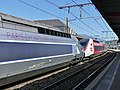 TGV Réseau Paris-Milan et TGV Lyria à Chambéry (juin 2019).JPG