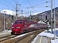 TGV Thalys Amsterdam-Alpes quittant Landry en Savoie (hiver 2019).JPG