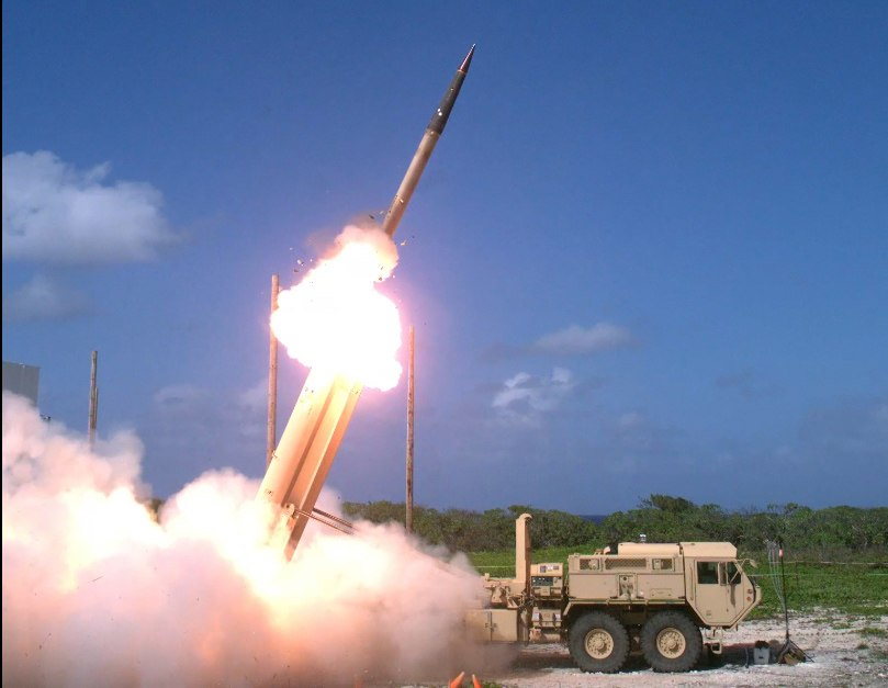 THAAD missile launch on Wake Island