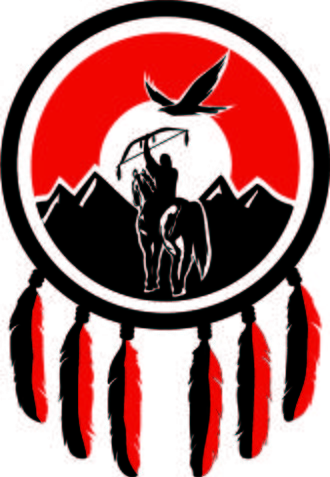 Tsilhqot'in National Government - Image: TNG logo Pantone 485+black