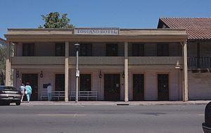 Sonoma Plaza - Image: TOSCANO HOTEL IN SONOMA STATE HISTORIC PARK CALIFORNIA