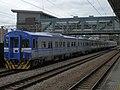TRA EMU410 at Zhunan Station 20160915.jpg
