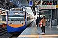 TRA EMU739+740 at Platform 1, Songzhu Station 20191019.jpg