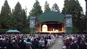 Theatre Under The Stars (Vancouver) - 2013 TUTS production at Malkin Bowl in Stanley Park