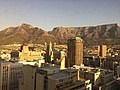 Table Mountain view from Cape Southern Sun Hotel, Cape Town.jpg