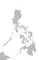 Tagabawa language map.png