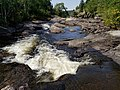 Talubi Falls in Nopiming Provincial Park in Manitoba, Canada. (43529369675).jpg
