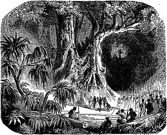 Trial by ordeal - A 19th-century artist's depiction of the tangena ordeal in Madagascar