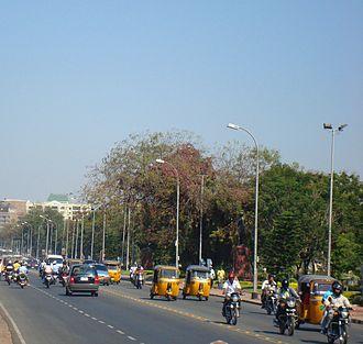 Tank Bund Road, Hyderabad - Tank Bund Road