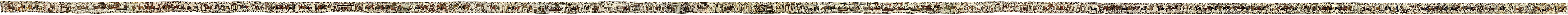 An extremely long embroidered cloth depicting events leading to the Norman conquest of England.