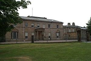 Tatton Hall - The north face of Tatton Hall.