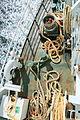 Tauverk på Bastøferga - ferry ropes on boat.JPG