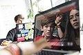 Teamwork with glossy screen.jpg