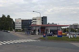 Munkkivuori - Teboil petrol station and Canon regional headquarters