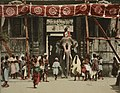 Temple elephant and people detail, South of India. Madura. Gopura. LCCN2017657631 (cropped).jpg
