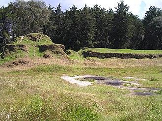Awilix - The ruins of the Temple of Awilix at Q'umarkaj