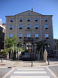 Tence (Haute-Loire, Fr) mairie.JPG