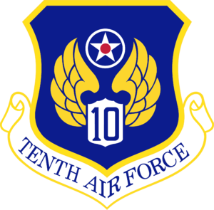 Tenth Air Force - Image: Tenth Air Force Emblem