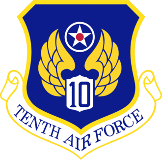 Tenth Air Force - Shield of the Tenth Air Force