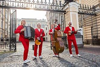 Terem Quartet - Terem Quartet. From left to right: Andrey Smirnov, Alexey Barshchev, Vladimir Kudryavtcev and Andrey Konstantinov