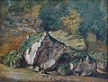 Théodore Rousseau-Etude de rochers et d'arbres.jpg
