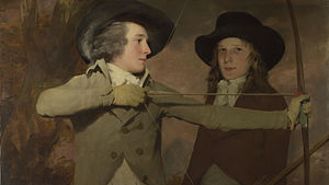 Robert Ferguson of Raith - The Archers by Sir Henry Raeburn illustrates Robert with his brother Ronald