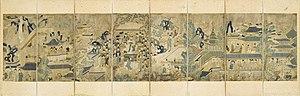 Guo Ziyi - Image: The Banquet of Guo Ziyi LACMA M.2000.15.54a h