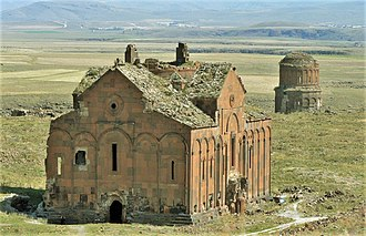 1000s in architecture - Image: The Cathedral of Ani
