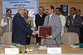 The Chairman, Railway Board, Shri Vinay Mittal and the Chief Secretary, Government of Chhattisgarh.jpg
