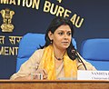 The Chairperson, Children's Film Society of India (CFSI), Ms. Nandita Das addressing a Press Conference, in New Delhi on October 21, 2011.jpg