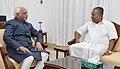 The Chief Minister of Kerala, Shri Pinarayi Vijayan calling on the Vice President, Shri M. Hamid Ansari, in Thiruvananthapuram, Kerala on August 29, 2016.jpg