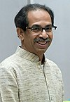 The Chief Minister of Maharashtra, Shri Uddhav Thackeray calling on the Prime Minister, Shri Narendra Modi, in New Delhi on February 21, 2020 (Uddhav Thackeray) (cropped).jpg
