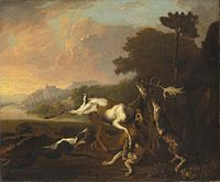 The Deer Hunt 1650-95 Abraham Hondius.jpg